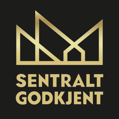 Godkjenningsmerket for sentral godkjenning, direktoratet for byggkvalitet